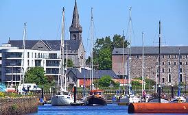 Marina et ville de Kilrush